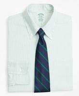 Brooks Brothers Original Polo Button-Down Oxford Milano Slim-Fit Dress Shirt, Stripe