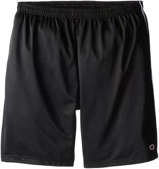Champion Men's Big-Tall Mesh Shorts with Piping