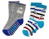 Gymboree Train & Stripe Socks