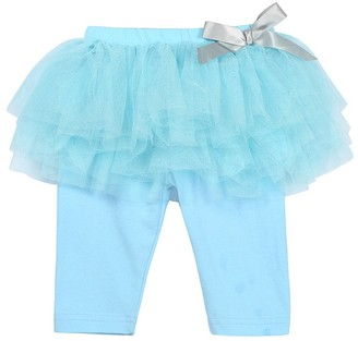 Homebaby   Girls Dress Baby Girls' Tulle Tutu Skirt Culottes Leggings UK 1-5 Years