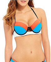 GB Colorblock Underwire Push-Up Top