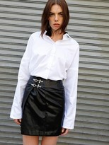 Leather Wrap Skirt - ShopStyle