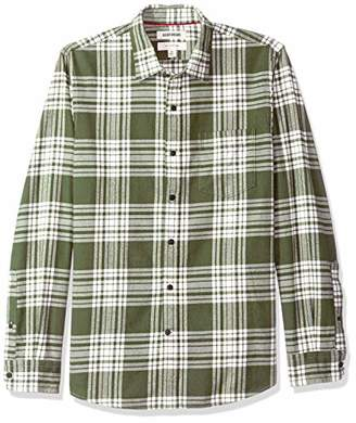 Goodthreads Slim-fit Long-sleeve Brushed Flannel Shirt Button
