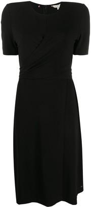 Tommy Hilfiger Asymmetric Twisted-Waist Dress