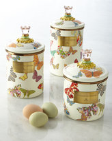 Mackenzie Childs MacKenzie-Childs Small Butterfly Garden Canister