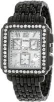 XOXO Women's Enamel Bracelet With Rhinestones Accent Watch XO5404