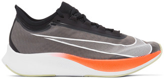Nike Grey and Black Zoom Fly 3 Sneakers
