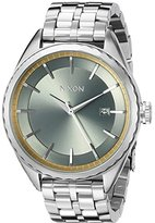 Nixon Women's A9342162 Minx Analog Display Swiss Quartz Silver Watch