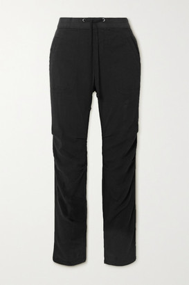 James Perse Cotton-blend Twill Track Pants - Black