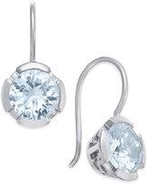Thomas Sabo Blue Crystal Drop Earrings in Sterling Silver