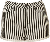 Petite Striped Hotpants