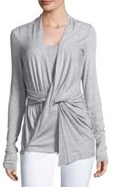Bailey 44 Very Thought Twisted Textured Top