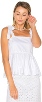 By Johnny Tie Strap Frill Camisole