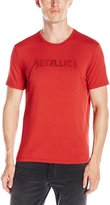 John Varvatos Men's Metallica Drop Logo Graphic Tee