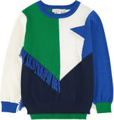 Stella McCartney Organic cotton and cashmere sweater with bobbles