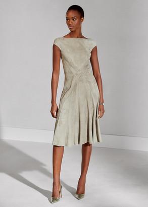 Ralph Lauren Juliet Suede Dress