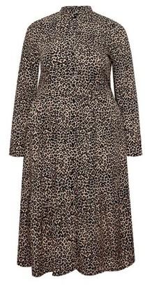 Dorothy Perkins Womens Dp Curve Black Shirt Dress, Black