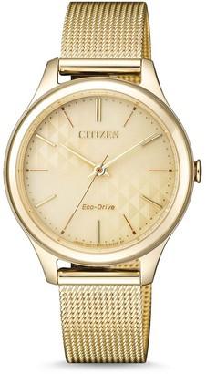 Citizen Women's Eco-Drive Elegant Mesh Bracelet Watch, 32mm