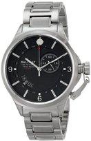Trafalgar Ballast Men's BL-3126-11 Dress Analog Display Swiss Quartz Silver Watch