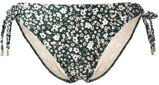 Peony Swimwear Side Tied Bikini Bottoms