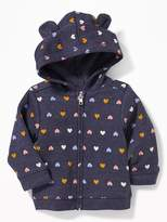 Old Navy Printed Critter Hoodie for Baby
