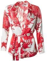 Saint Tropez Flower Print Kimono Shirt