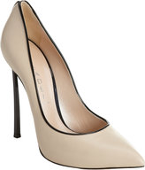 Thumbnail for your product : Casadei Contrast Piped Pump