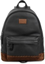 Coach Rip And Repair Campus Leather Backpack