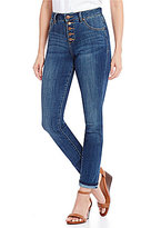Jag Jeans Gwen Hi-Rise Button Fly Skinny Jeans