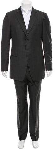 Giorgio Armani Wool Two-Button Suit