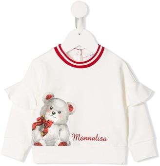MonnaLisa Teddybear Print Top