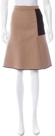 Derek Lam Wool & Cashmere-Blend Skirt