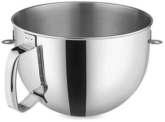 KitchenAid 6-Quart Bowl-Lift Polished Stainless Steel Bowl with Comfort Handle