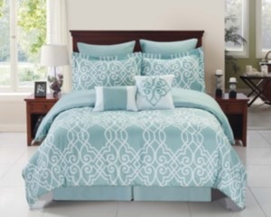 Cathay Home, Inc Dawson Bed in a Bag Full Set Bedding