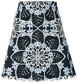 Alice McCall Afternoon embroidered skirt