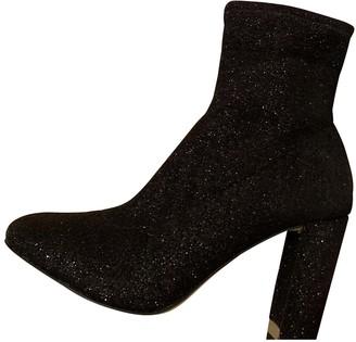 Michael Kors Black Glitter Ankle boots