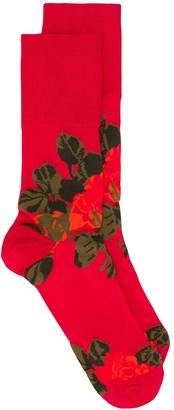 Simone Rocha Floral-Motif Short Socks