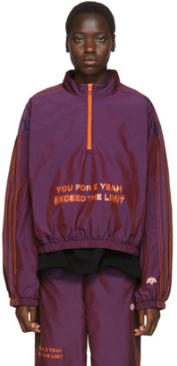 Adidas Originals By Alexander Wang Purple You For E Yeah Exceed The Limit Track Pullover