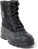 Ralph Lauren Roxbury Nylon-Leather Boot