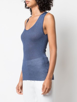 Brunello Cucinelli Knitted Tank Top