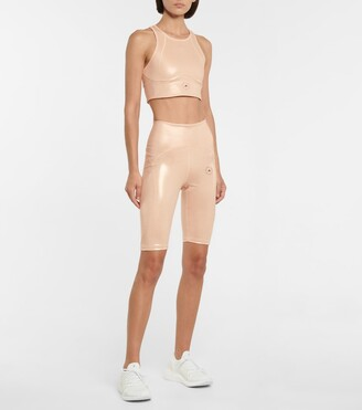 adidas by Stella McCartney Shine compression crop top