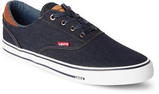 Levi's Navy Ethan Denim Low-Top Sneakers