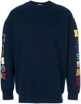 MAISON KITSUNÉ appliqué sweatshirt