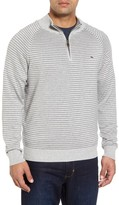 Vineyard Vines Men's Classic Stripe Quarter Zip Pullover