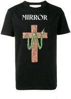 Off-White snake printed t-shirt - men - Cotton - XS