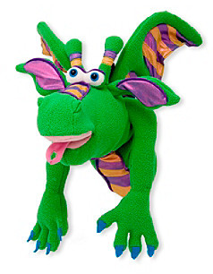 Melissa & Doug Melissa Doug Smoulder the Dragon Puppet