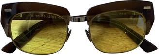Acne Studios Multicolour Plastic Sunglasses