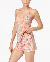 Flora by Flora Nikrooz Wildflower Cami and Shorts Knit Pajama Set