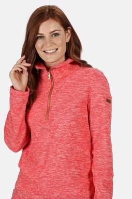 Regatta Womens Fidelia Half Zip Fleece - Red