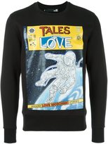 Love Moschino 'tales from love' printed sweatshirt